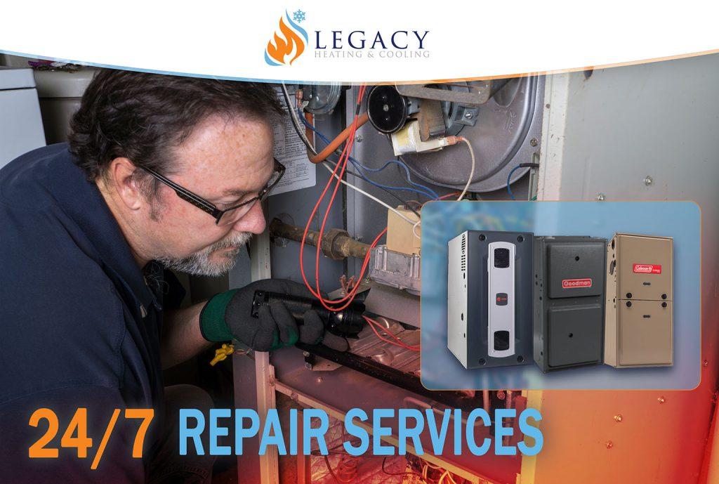 furnace repair leduc